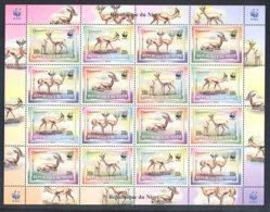 Niger - 1998 WWF Sheet MNH__(FIL-10600) - Niger (1960-...)
