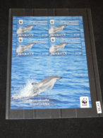 Penrhyn - 2010 Blue And White Dolphin 1.10$ Kleinbogen MNH__(TH-10788) - Penrhyn
