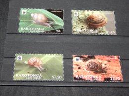Rarotonga - 2012 Snails MNH__(TH-14878) - Cook Islands