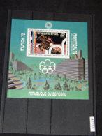 Senegal - 1976 Montreal (I) Block (3) MNH__(TH-17752) - Sénégal (1960-...)