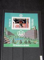 Senegal - 1976 Montreal (I) Block (4) MNH__(TH-17749) - Sénégal (1960-...)