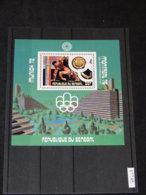 Senegal - 1976 Montreal (I) Block (5) MNH__(TH-17745) - Sénégal (1960-...)