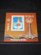 Senegal - 1976 Montreal (III) Block (2) MNH__(TH-16348) - Sénégal (1960-...)