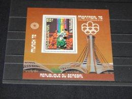 Senegal - 1976 Montreal (III) Block (4) MNH__(TH-9486) - Senegal (1960-...)