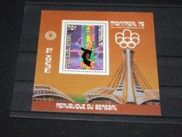 Senegal - 1976 Montreal (III) Block (6) MNH__(TH-18967) - Sénégal (1960-...)