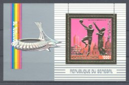 Senegal - 1976 Montreal (IV) Block (1) MNH__(TH-5130) - Senegal (1960-...)