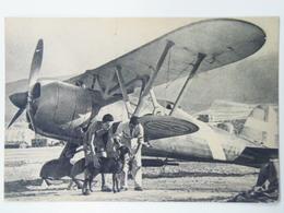 7065 Militare Secundo Guerra Falco Fiat Cr 42 - Guerre 1939-45