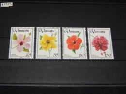 Vanuatu - 1993 Hibiscus Flowers MNH__(TH-11737) - Vanuatu (1980-...)
