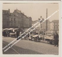 PHOTO ORIGINALE PLACE DE LA CHAPELLE BRUXELLES / MARCHE AUX POISSONS / Magasin Balances MELOT Et IMPRIMERIE LUCIFER - Piazze