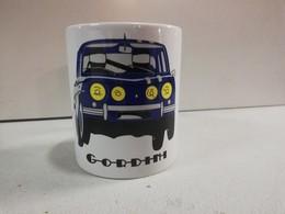 TASSE Ceramique MUG COFFEE NOEL RENAULT 8 GORDINI Rallye Côte Circuit Losange R8 - Cars