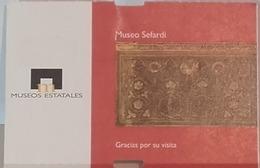 Entry Ticket To Museo Sefardi - Toledo / Spain - 27.12.2006 - Tickets - Vouchers