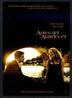 *Antes Del Atardecer* Ed. Warner Bros. Nueva. - Afiches En Tarjetas