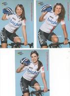 SERIE COMPLETE  TEAM BIGLA  FEMININES 2014  ???  11 CARTES - Ciclismo