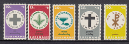 Suriname MNH NVPH Nr 490/94 From 1968 / Catw 2.00 EUR - Suriname