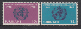 Suriname MNH NVPH Nr 495/96 From 1968 / Catw 0.60 EUR - Suriname