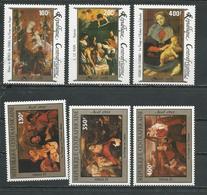 CENTRAFRIQUE  Scott C315-C317, C308-C310 Yvert PA324-PA326, PA313-PA315 ** (6) Cote 16,00 $ 1985 - Centrafricaine (République)