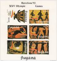 Guyana Nº Michel 3064B Al 3069B En Hoja SIN DENTAR - Sommer 1992: Barcelone