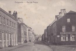Philippeville Rue De France Circulée En 1907 - Philippeville