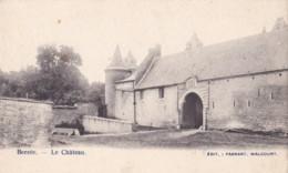 Berzée Le Château Circulée En 1912 Avec Cachet Relais De Berzée - Walcourt