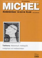 Briefmarken Rundschau MICHEL 10/2018-plus New 6€ Stamps Bf World Catalogue/magacine Of Germany ISBN 978-3-95402-600 - Tedesco