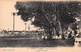 CPA TAHITI - PAPEETE - Place Bougainville - Polynésie Française
