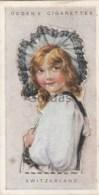Switzerland - Children Of All Nations - Ogden's Cigarette Card - Nr. 44 - 35x65mm - Ogden's