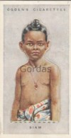 Siam - Children Of All Nations - Ogden's Cigarette Card - Nr. 41 - 35x65mm - Ogden's