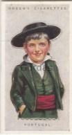 Portugal - Children Of All Nations - Ogden's Cigarette Card - Nr. 37 - 35x65mm - Ogden's