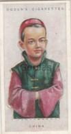 China - Children Of All Nations - Ogden's Cigarette Card - Nr. 11 - 35x65mm - Ogden's