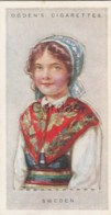 Sweden - Children Of All Nations - Ogden's Cigarette Card - Nr. 43 - 35x65mm - Ogden's