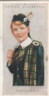 Scotland - Children Of All Nations - Ogden's Cigarette Card - Nr. 40 - 35x65mm - Ogden's