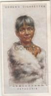 Patagonia - Children Of All Nations - Ogden's Cigarette Card - Nr. 54 - 35x65mm - Ogden's