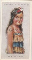 New Zealand - Children Of All Nations - Ogden's Cigarette Card - Nr. 30 - 35x65mm - Ogden's