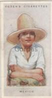 Mexico - Children Of All Nations - Ogden's Cigarette Card - Nr. 26 - 35x65mm - Ogden's