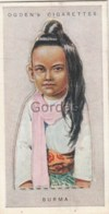 Burma - Children Of All Nations - Ogden's Cigarette Card - Nr. 10 - 35x65mm - Ogden's