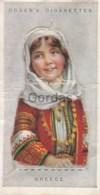 Greece - Children Of All Nations - Ogden's Cigarette Card - Nr. 17 - 35x65mm - Ogden's