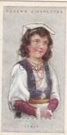 Italy - Children Of All Nations - Ogden's Cigarette Card - Nr. 22 - 35x65mm - Ogden's