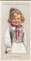 Denmark - Children Of All Nations - Ogden's Cigarette Card - Nr. 13 - 35x65mm - Ogden's