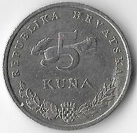 Croatia 1999 5 Kuna [C749/2D] - Croatie
