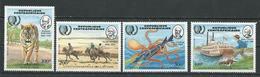 CENTRAFRIQUE  Scott 718-721 Yvert 666-669 ** (4) Cote 11,00 $ 1985 - Centrafricaine (République)