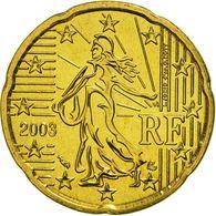 Neuve Rare Pièce De 20 Cent Euros Bu Officiel France Année 2003 Unc 100% Neuve Issue Du Bu 100 000 Exemplaires Pro Neuf - France