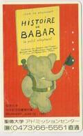CARTOON - JAPAN-156 - BABAR - ELEPHANT - BD