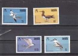 Anguilla Nº 586 Al 589 Con Charnela - Anguilla (1968-...)