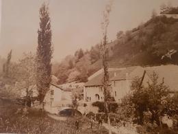 Gex (Ain), Quartier Du Journans Vers 1900, Photographie Bogat - Gex