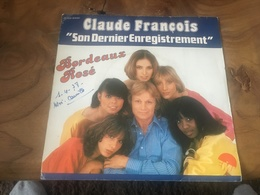 166/ CLAUDE FRANCOIS BORDEAUX ROSE - Reggae