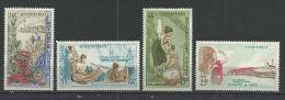 """Laos YT 109 à 112 """" Aides étrangères """" 1965 Neuf* - Laos"""