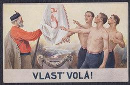 Czech Republic Sokol Movement, Postcard - Tchéquie