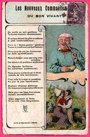 Les Nouveaux Commandements Du Bon Vivant - Poème - HENRI HERMICE  - 1928 - Philosophy