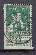 108 Gestempeld KNESSELAERE - COBA 15 Euro - 1912 Pellens
