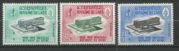 "Laos YT 131 à 133 "" O.MS "" 1966 Neuf** - Laos"